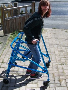 My Nimbo walking frame that I call Martha