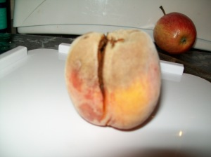 Peach after