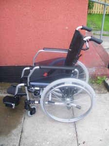 My new wheelchair Agatha
