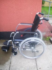 My new wheelchair Agatha